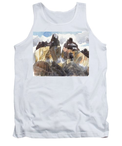 Torres Del Paine, Chile Tank Top