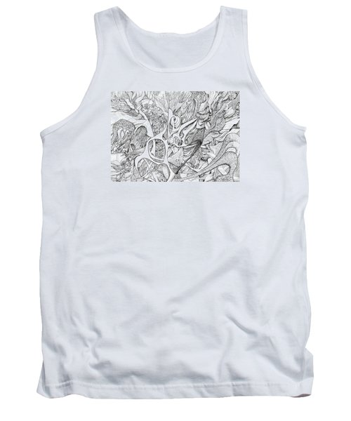 Tortuosity Tank Top by Charles Cater