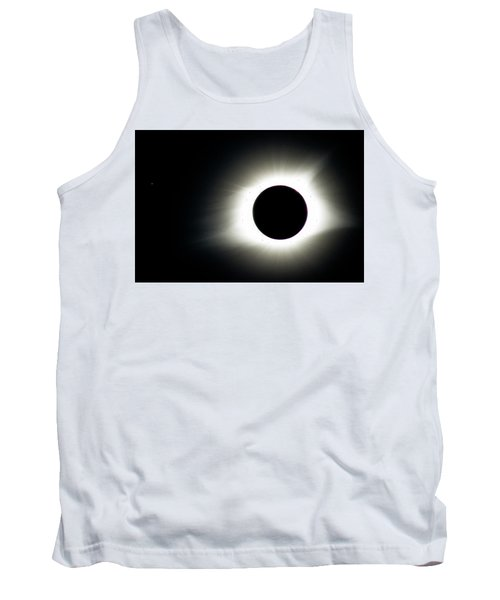 Tank Top featuring the photograph Totality And Mercury by Randy Scherkenbach