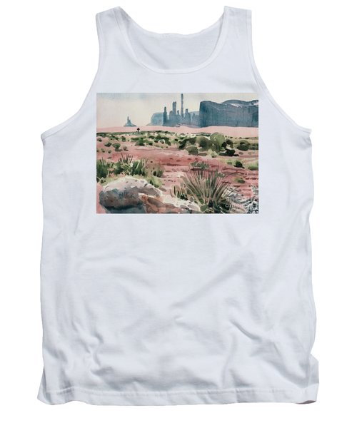 Totem Pole Tank Top by Donald Maier