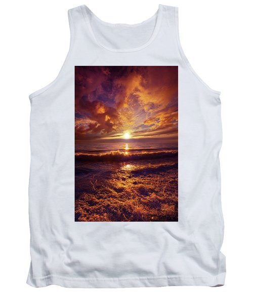 Tank Top featuring the photograph Toward The Far Reaches by Phil Koch