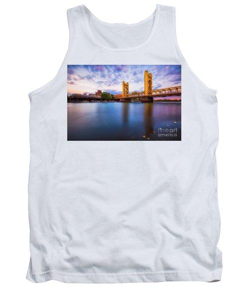 Tower Bridge Sacramento 3 Tank Top