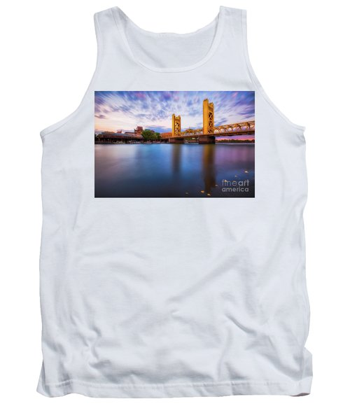 Tower Bridge Sacramento 3 Tank Top