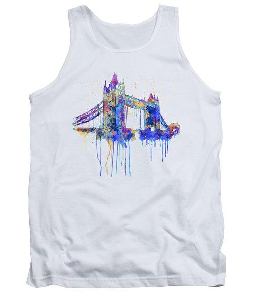 Tower Bridge Watercolor Tank Top