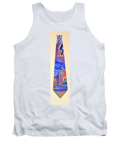 Tower Of London Tank Top by Tracy Dennison