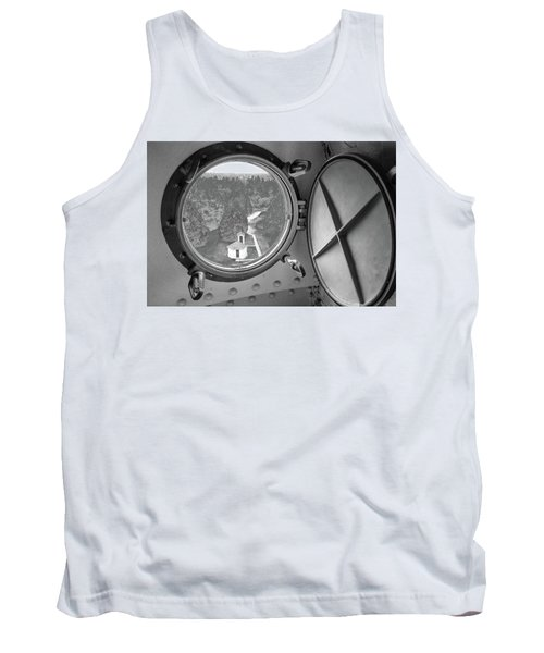 Tank Top featuring the photograph Tower View by Janice Adomeit