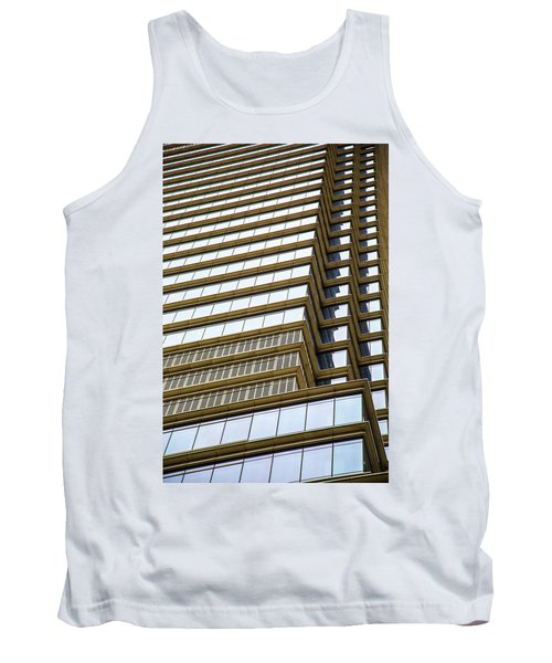 Tank Top featuring the photograph Towering Windows by Karol Livote