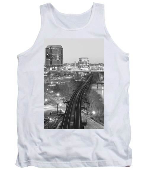 Tracks Into The City Tank Top