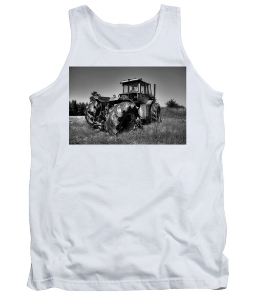 Tractor In The Countryside Tank Top