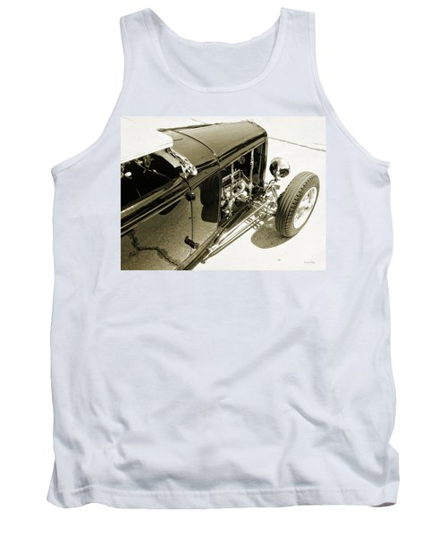 Traditional Roadster Bw Tank Top