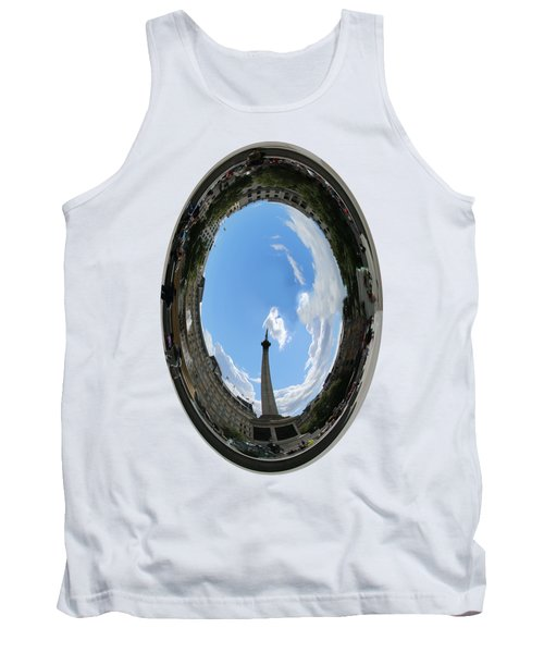 Trafalgar Square Oval Tank Top by Roger Lighterness