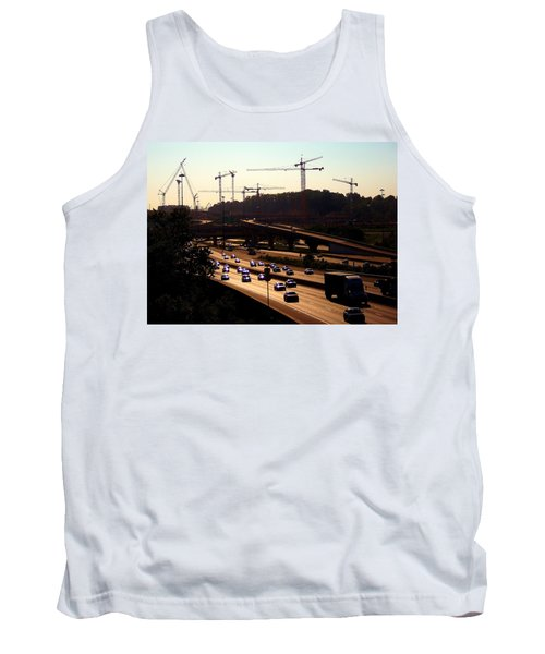 Traffic And Cranes Tank Top