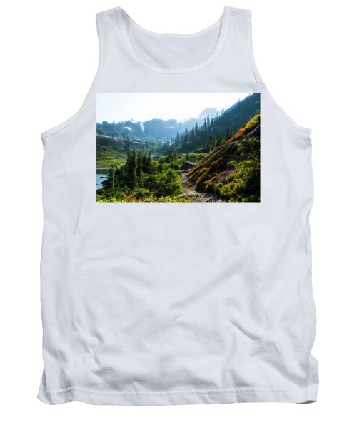 Trail In Mountains Tank Top