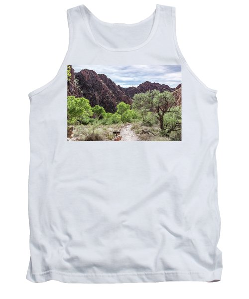 Trail Into Phantom Ranch, Grand Canyon Tank Top