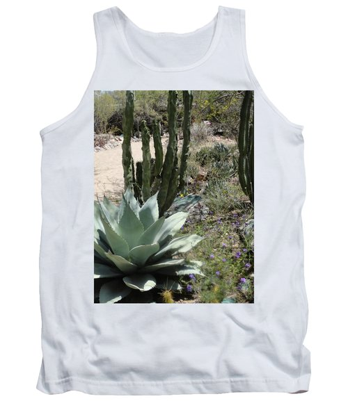 Trail Of Cactus Tank Top