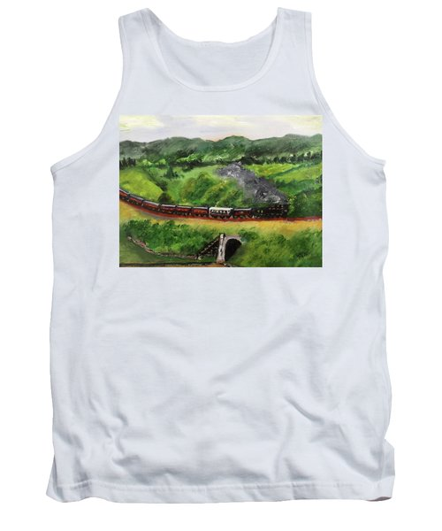 Train In The Country Tank Top