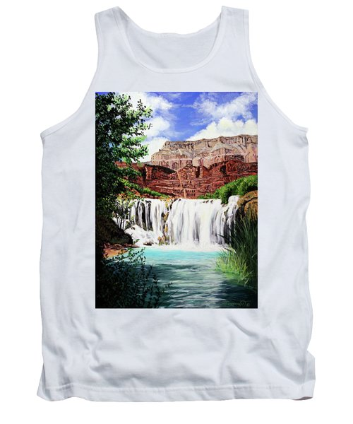 Tranquility In The Canyon Tank Top
