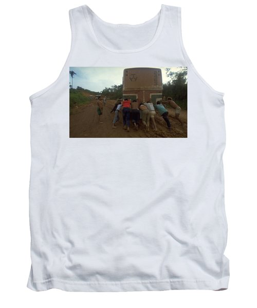 Trans Amazonian Highway, Brazil Tank Top