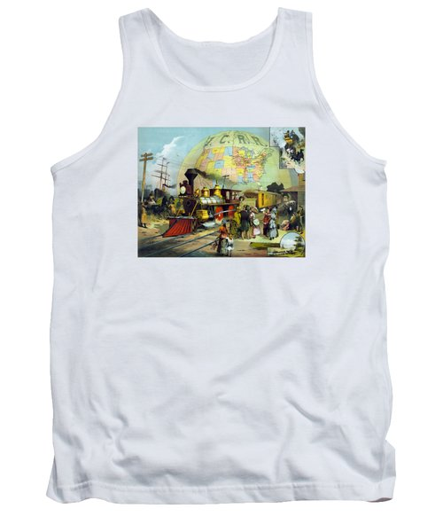 Transcontinental Railroad Tank Top by War Is Hell Store