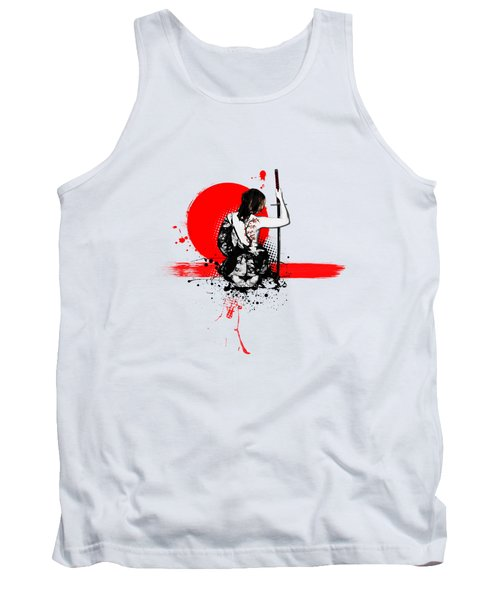 Trash Polka - Female Samurai Tank Top