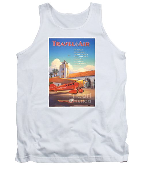 Travel By Air Tank Top