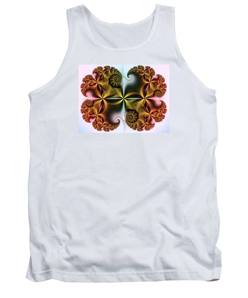 Tank Top featuring the digital art Treasure by Karin Kuhlmann