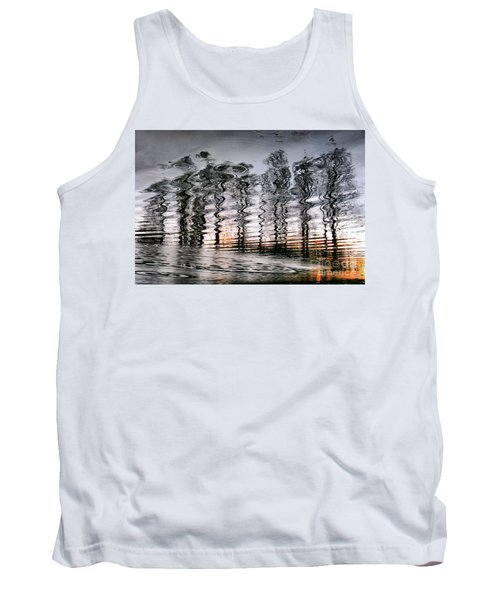 Tree And Reflection Tank Top