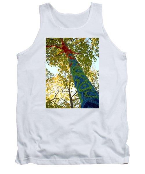 Tree Crochet Tank Top by  Newwwman