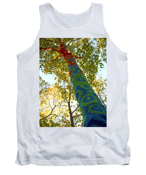 Tree Crochet Tank Top