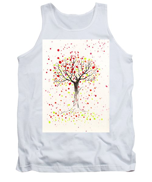 Tree Explosion Tank Top by Stefanie Forck