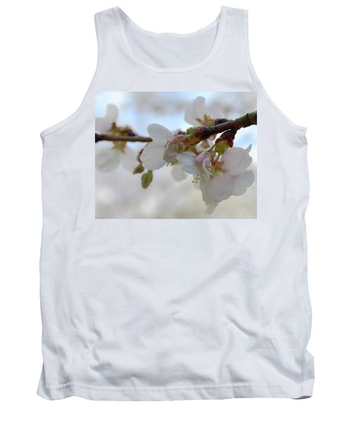 Dogwood Branch Pink Tank Top