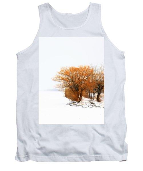 Tree In The Winter Tank Top