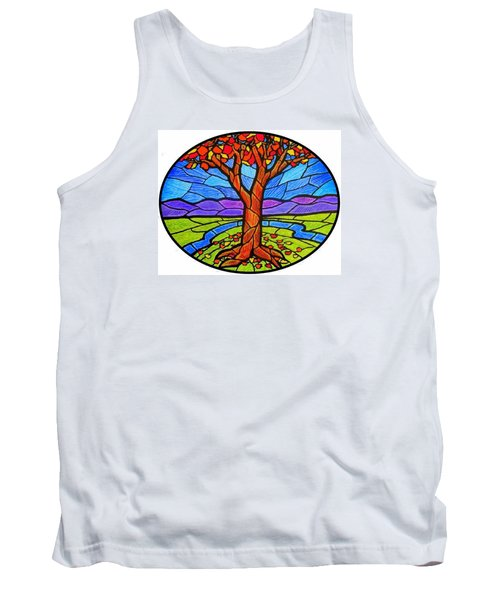 Tree Of Grace - Autumn Tank Top