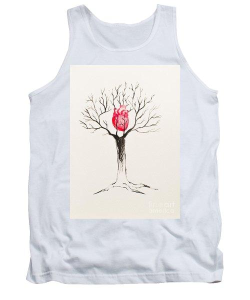 Tree Of Hearts Tank Top