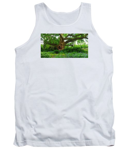 Tree Of Life Tank Top by Christian Slanec