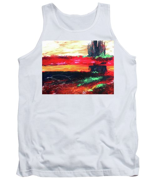 Tree Reflected Tank Top