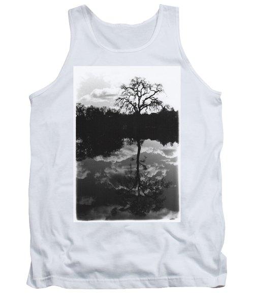 Tree Reflection Sebastopol Ca, Tank Top