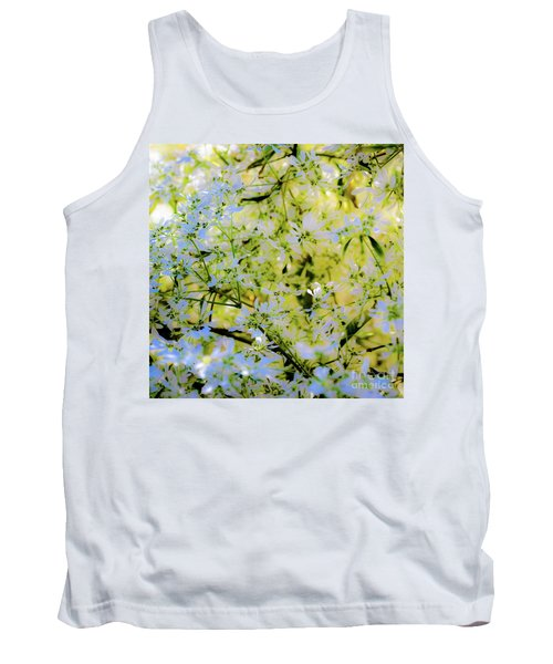 Trees And Leaves Tank Top
