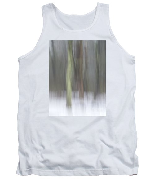 Trees In Fog II Tank Top