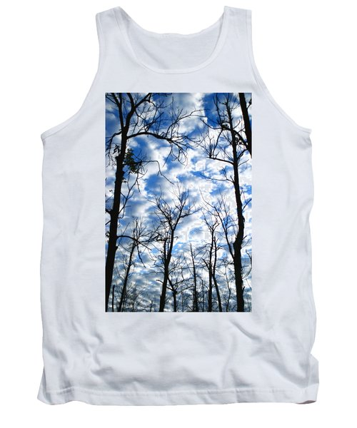 Tank Top featuring the photograph Trees In The Sky by Shari Jardina