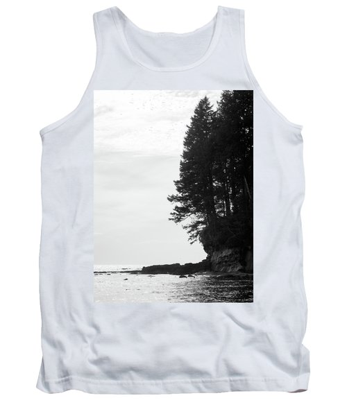 Trees Over The Ocean Tank Top