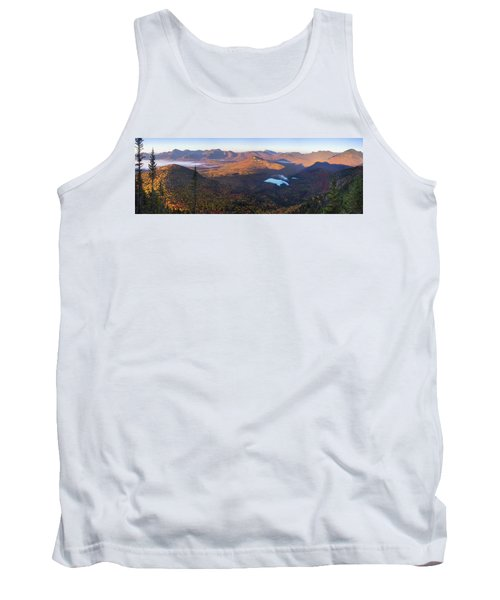Tremont Autumn Morning Panorama Tank Top