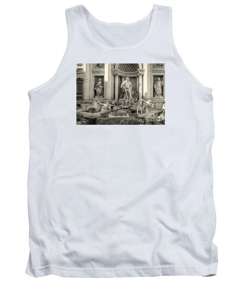 Trevi Fountain Tank Top