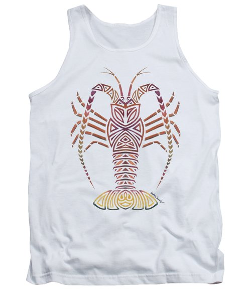 Tribal Caribbean Lobster Tank Top