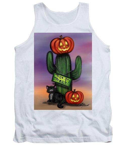 Trick Or Treat Cactus Tank Top