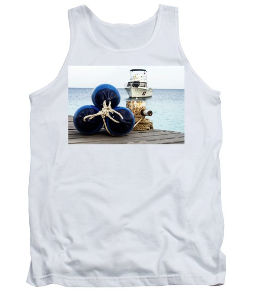 Tank Top featuring the photograph Triple Bumpers by Jean Noren