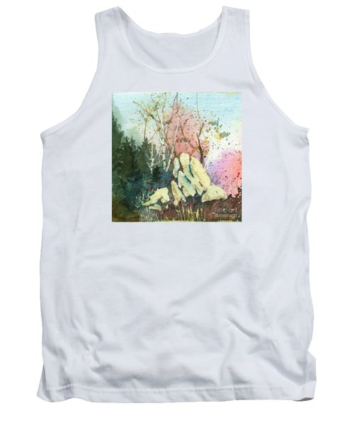 Triptych Panel 1 Tank Top