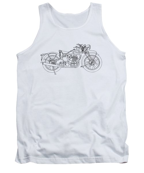 Triumph Laverda Tank Top by Stephen Brooks