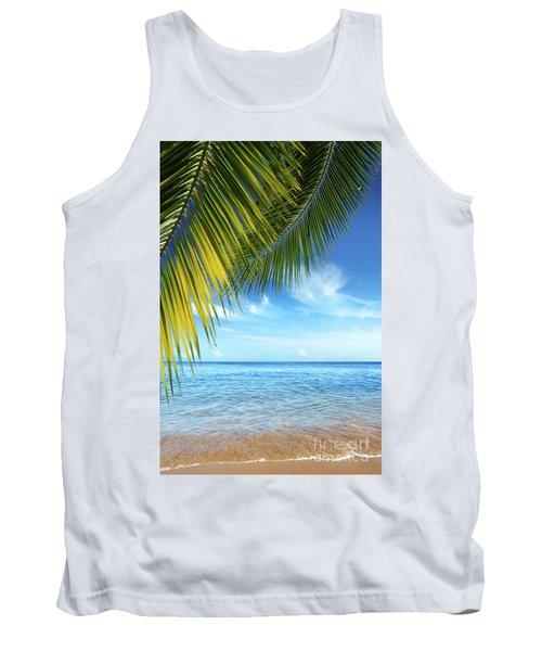 Tropical Beach Tank Top