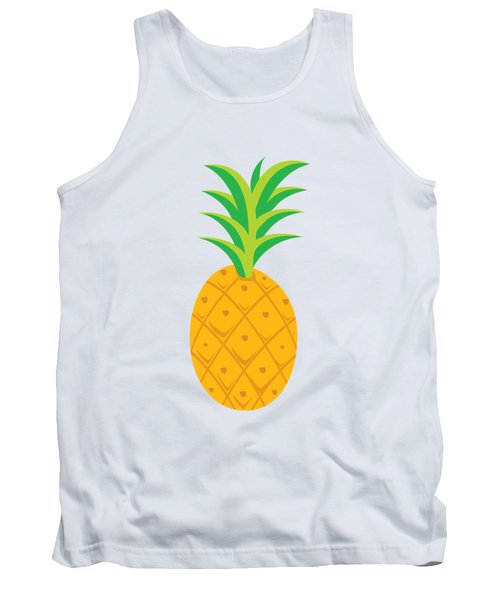 Tropical Fruits Ananas Pineapple Tank Top by MGdezigns